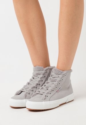 2795  - Sneakers alte - light grey