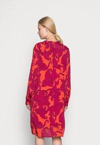 Emily van den Bergh - DRESS - Shirt dress - pink red - 2