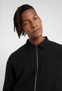 YMC You Must Create - BOWIE ZIP SHIRT - Kofta - black - 5