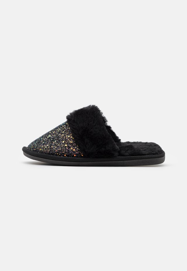 FLICKER - Slippers - black
