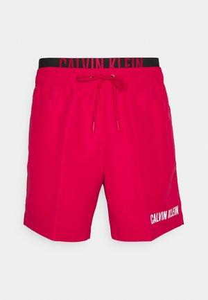 MEDIUM DOUBLE - Swimming shorts - red