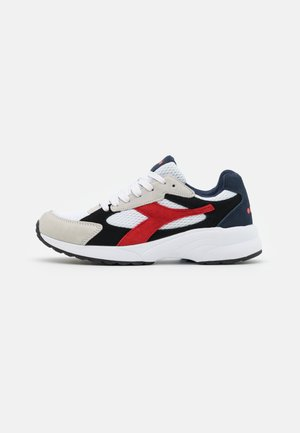 D-5000 UNISEX - Trainers - white/black/fiery red