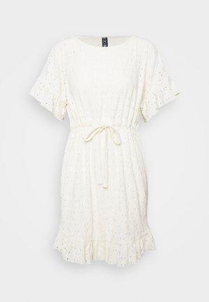 PCLIFE DRESS - Sukienka letnia - cloud dancer
