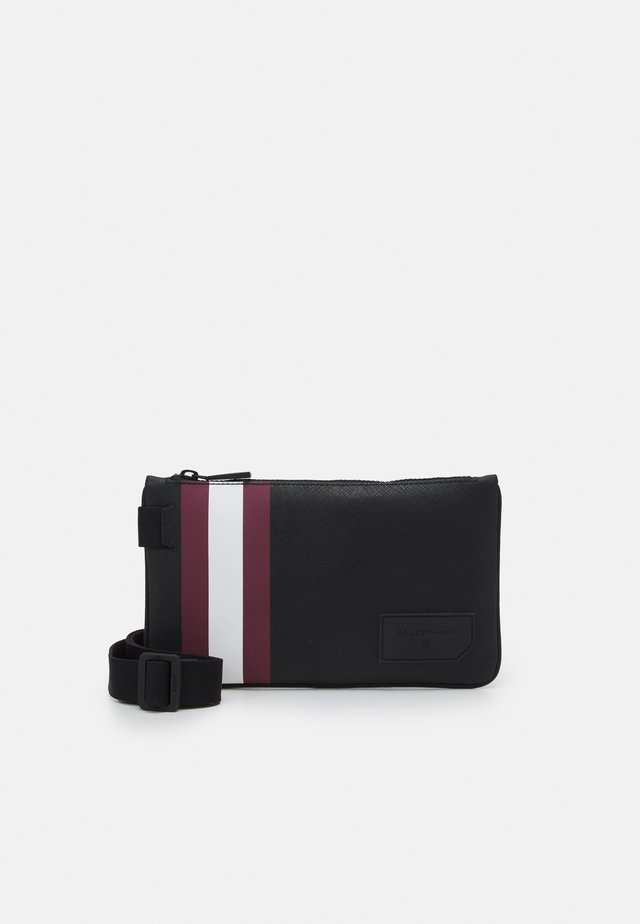 SHAWN UNISEX - Handväska - black/red