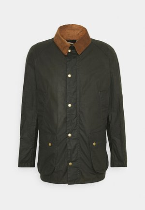 LIGHTWEIGHT ASHBY WAX - Cappotto corto - archive olive