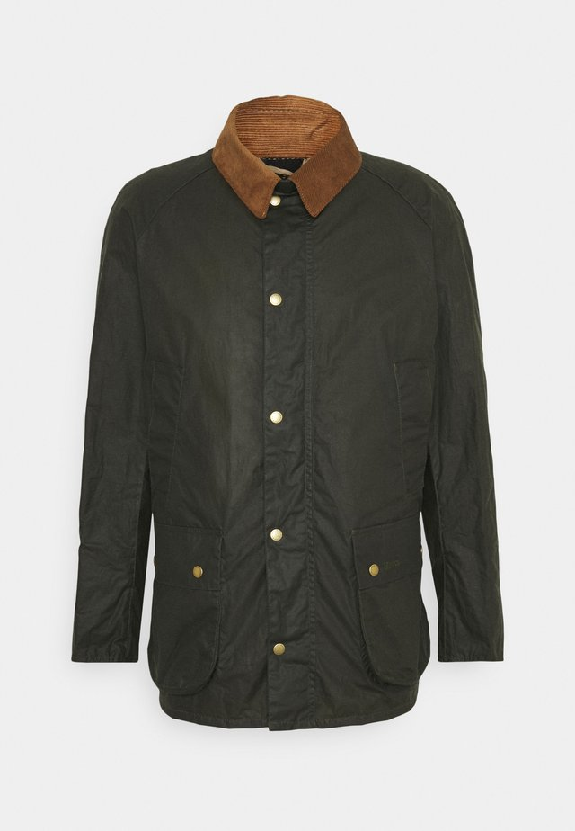 LIGHTWEIGHT ASHBY WAX - Kurzmantel - archive olive