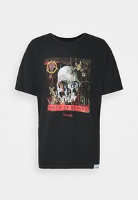 Diamond Supply Co. - SOUTH OF HEAVEN TEE - Printtipaita - black - 0