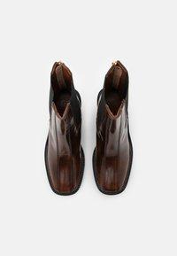 Topshop - HONG KONG CASUAL PLATFORM - Kotníkové boty na platformě - tan - 5