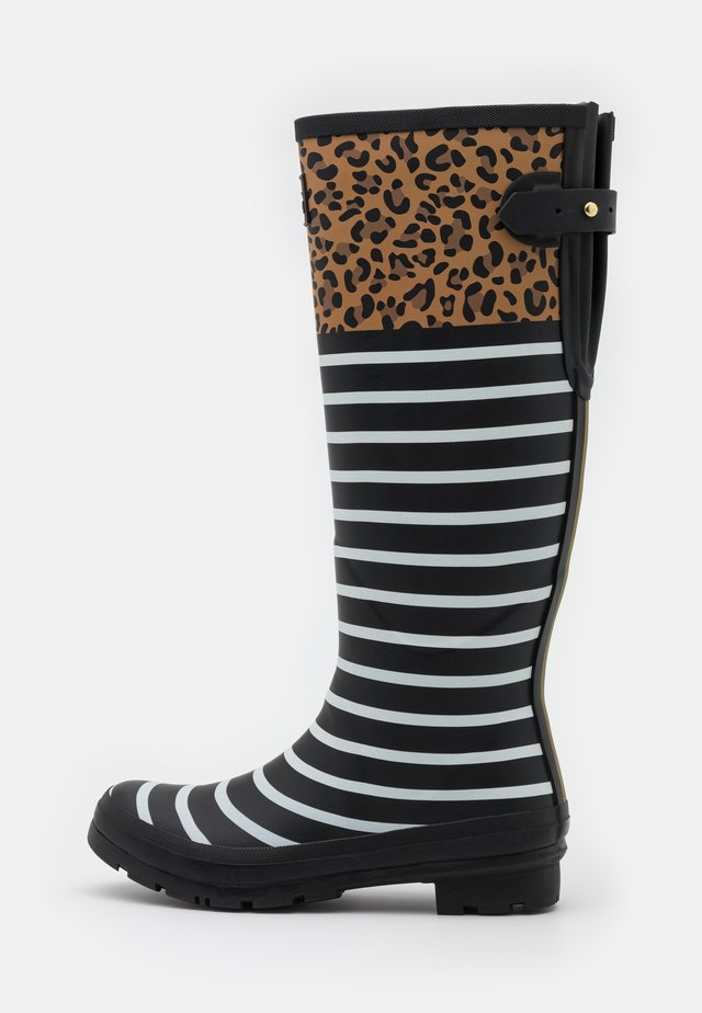 WELLY PRINT - Gummistiefel - tan