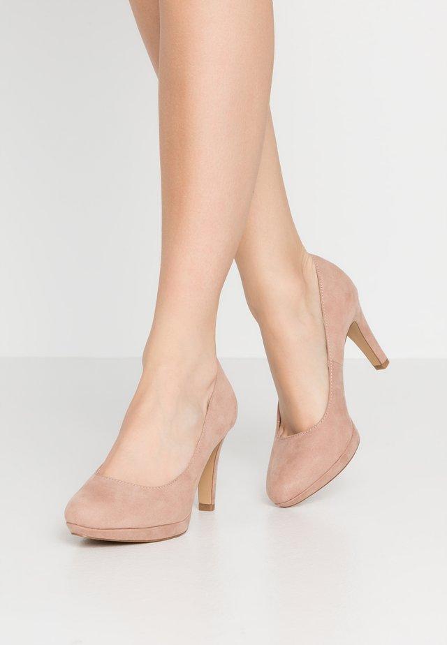 High heels - old rose