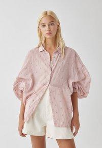 PULL&BEAR - Koszula - pink - 0