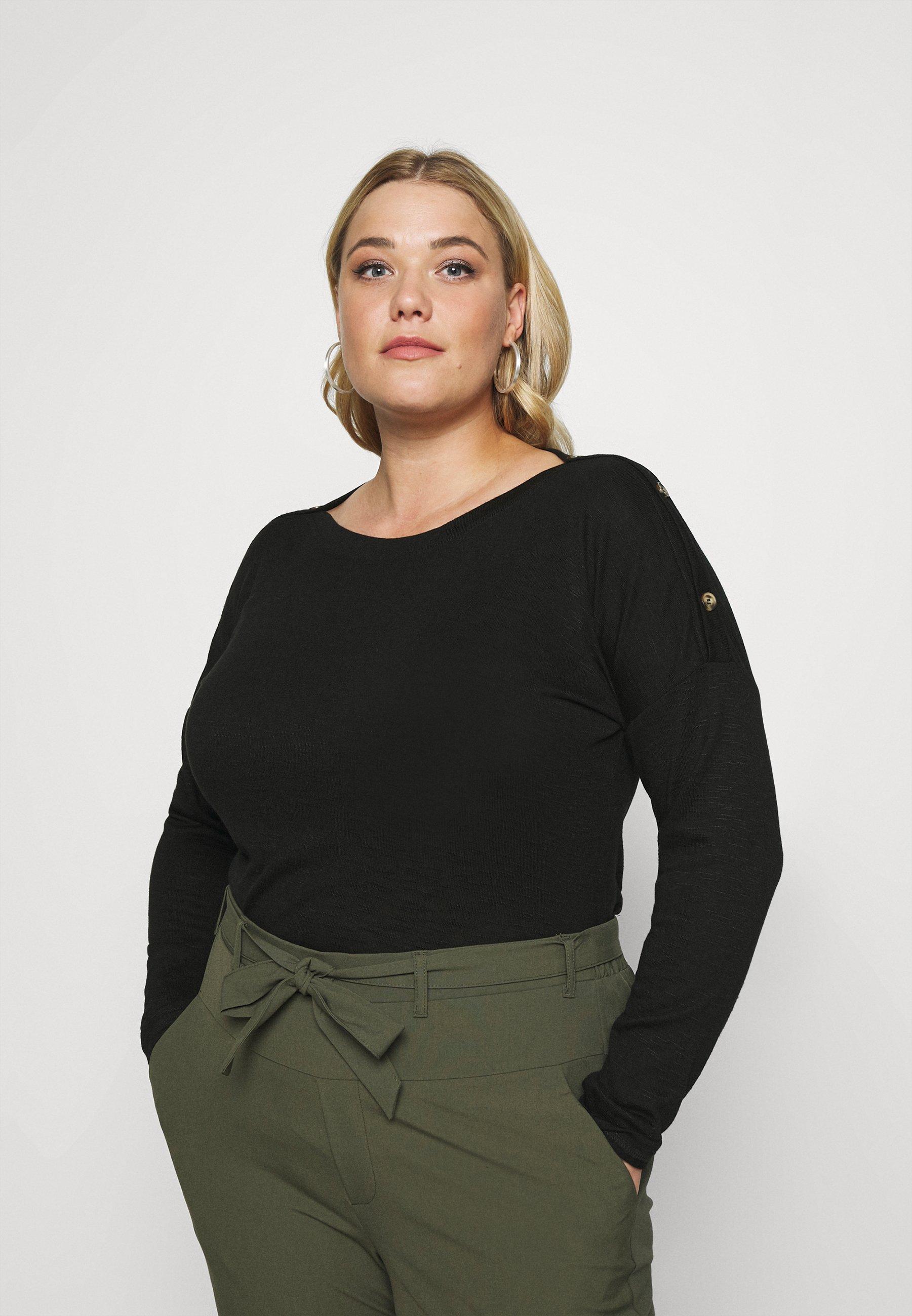 Women PCNOLLIE O NECK - Long sleeved top