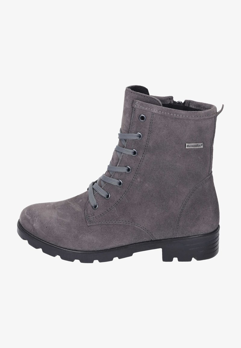 Ricosta - Lace-up ankle boots - meteor
