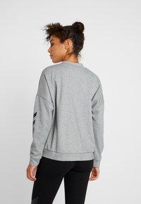 Hummel - HMLESSI  - Sweater - grey melange - 2
