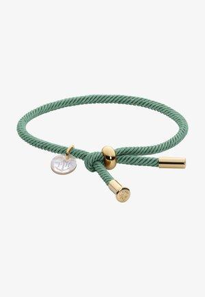 Armband - teal/gold