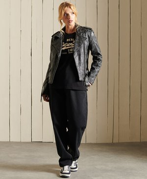 VINTAGE LOGO BOHO SPARKLE - Print T-shirt - black