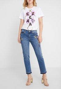 Escada Sport - Straight leg jeans - medium blue - 0