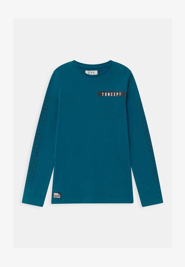 TEENAGER - Camiseta de manga larga - petrol