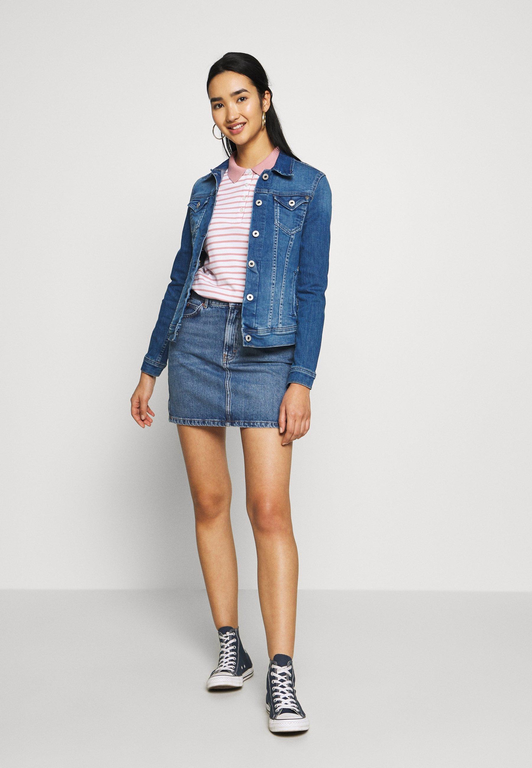 Pepe Jeans THRIFT - Veste en jean - blue denim