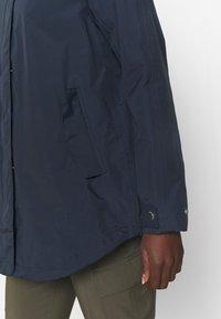 Helly Hansen - VALENTIA RAINCOAT - Hardshell jacket - navy - 3
