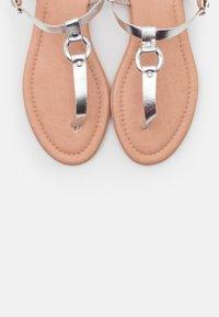 Esprit - KONA THONG - Flip Flops - silver - 5