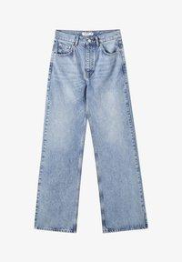 PULL&BEAR - FLARE-FIT - Široké džíny - blue - 5