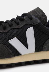 Veja - RIO BRANCO - Baskets basses - black/white/oxford grey - 5