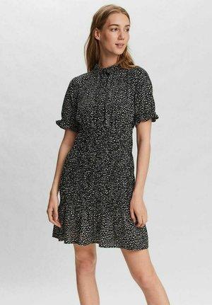 GESMOKT - Shirt dress - black