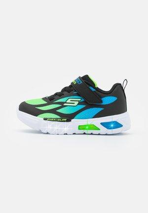 FLEX GLOW - Trainers - black/blue/lime