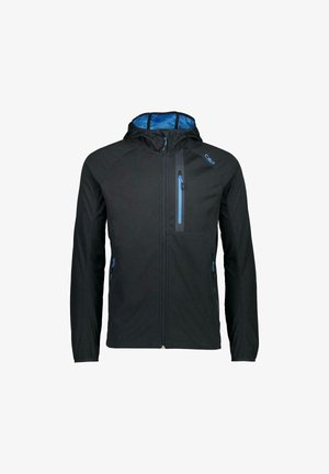 Soft shell jacket - anthracite