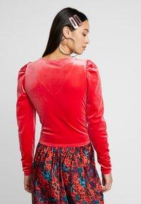 Monki - MAJLI - Long sleeved top - red - 2
