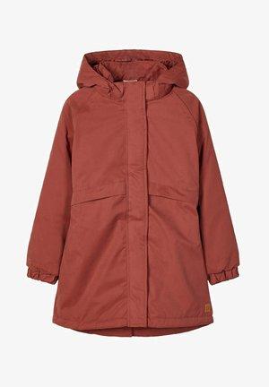 Winter coat - mahogany