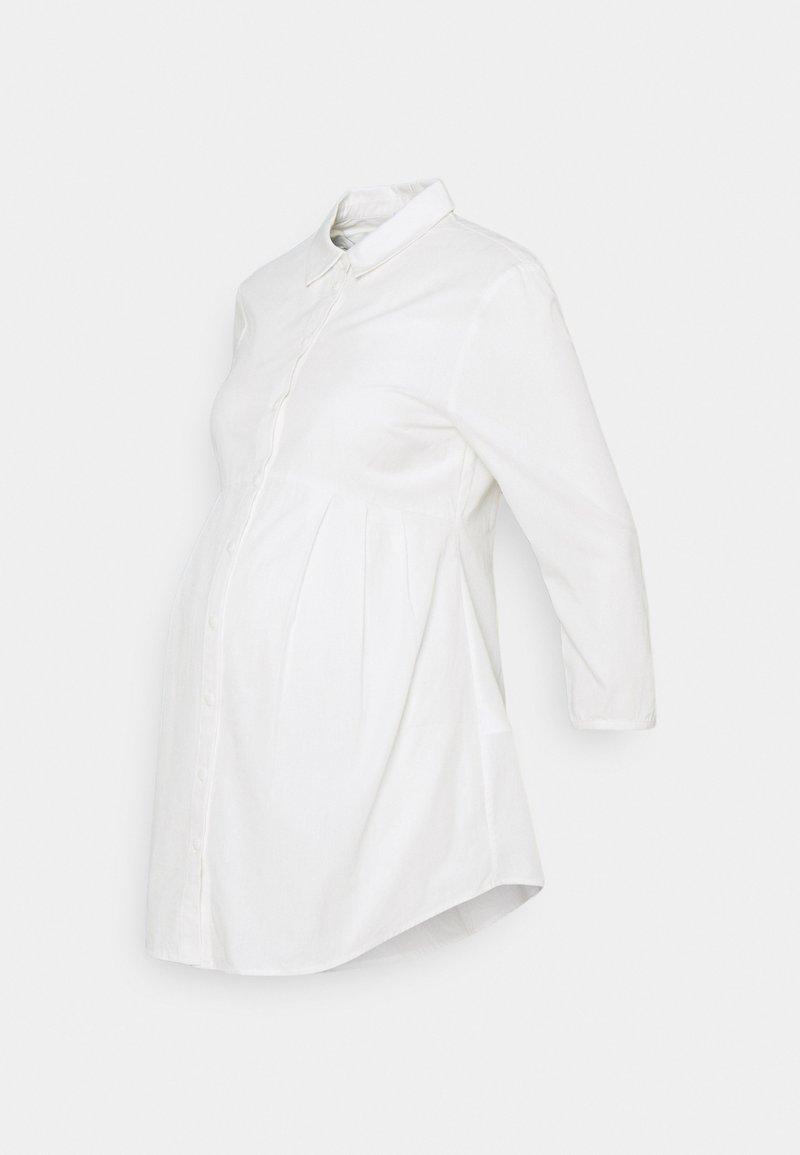 Anna Field MAMA - Blouse - Skjorte - white