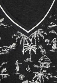 Cecil - MIT EXOTISCHEM - Print T-shirt - grau - 4