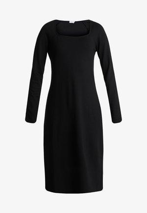 AMAYA DRESS - Jersey dress - black