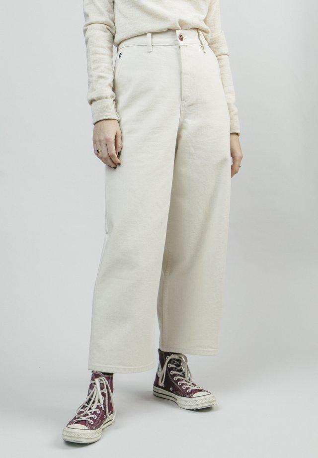 RAW - Spodnie materiałowe - white