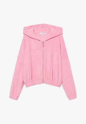 ROSA - Sweater met rits - rosa