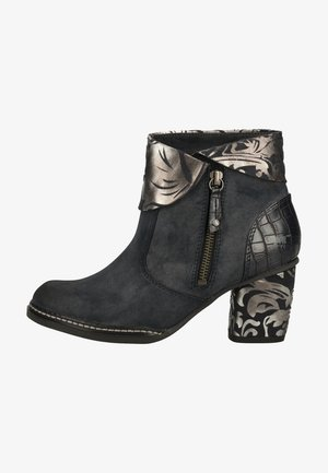 Ankle boots - navy 820