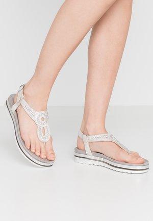 T-bar sandals - ice