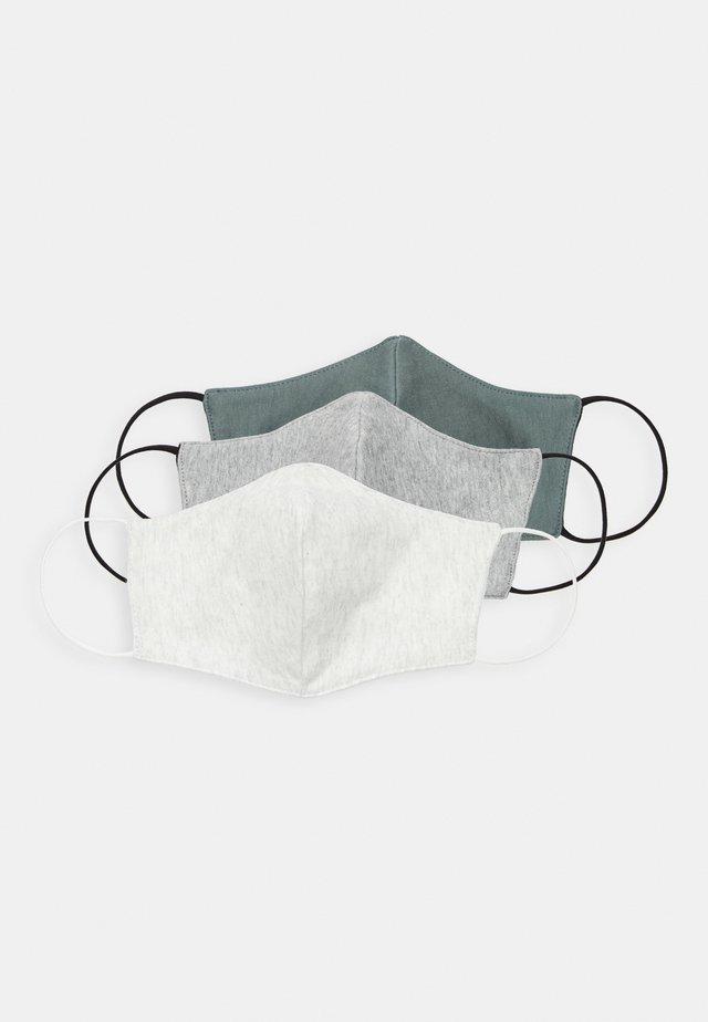 3 PACK - Stoffen mondkapje - grey
