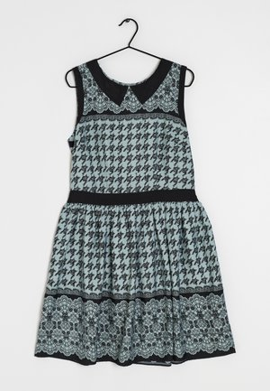 Day dress - blue black