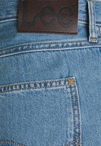 Lee - FIVE POCKET - Jeansshorts - light stone - 5