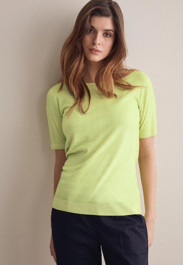 Basic T-shirt - grün - 8578 - lime