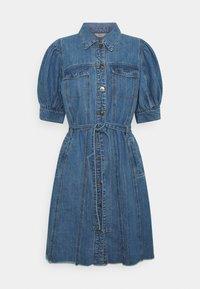 ONLY - ONLGERDA BELT DRESS - Dongerikjole - dark blue denim - 3