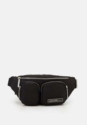 PRIMARY WAISTBAG - Ledvinka - black