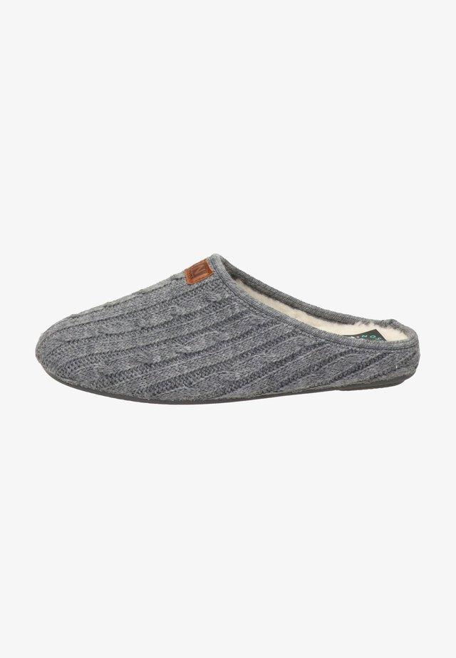 Pantoffels - grijs