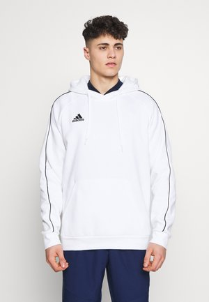 CORE ELEVEN FOOTBALL HODDIE SWEAT - Kapuzenpullover - white