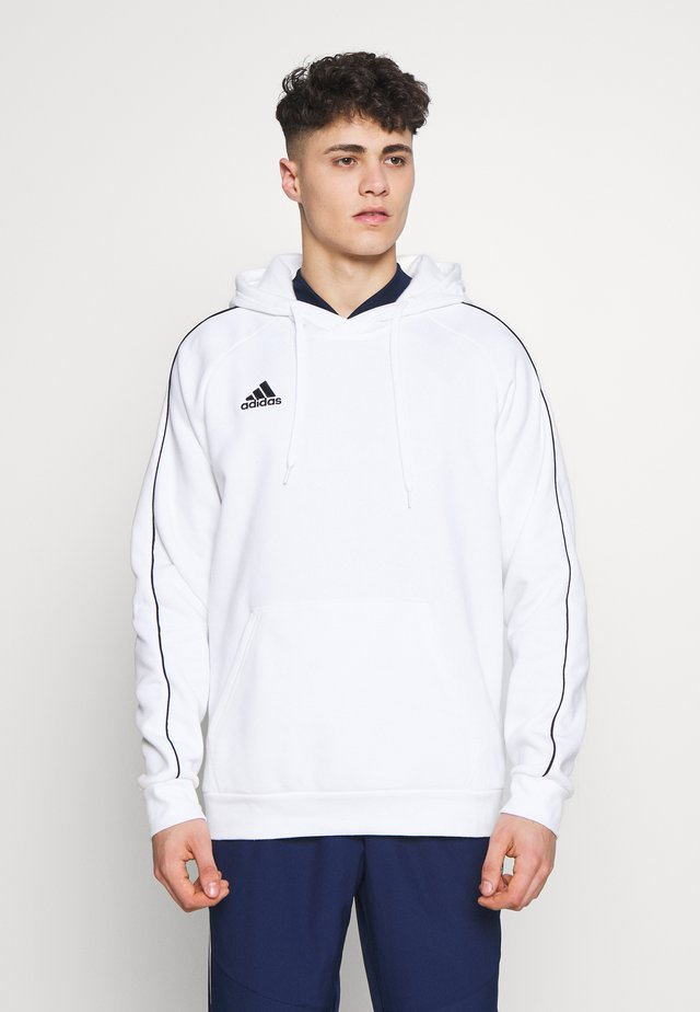 CORE ELEVEN FOOTBALL HODDIE SWEAT - Hoodie - white