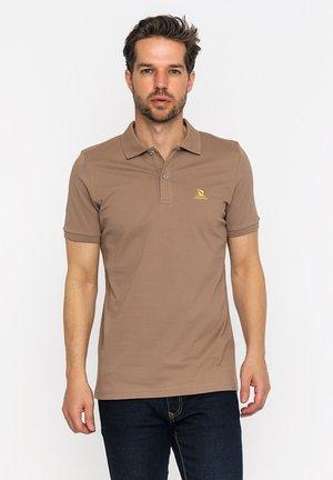 Poloshirt - light brown/yellow