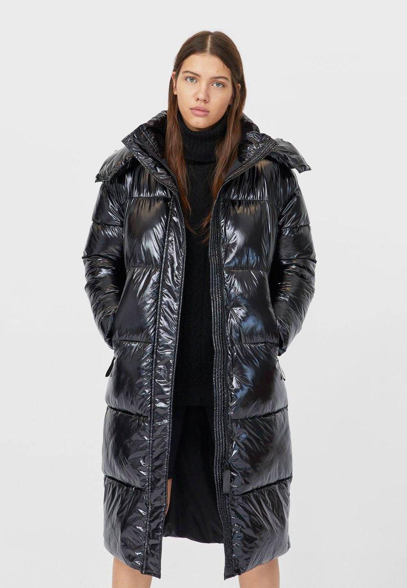 Stradivarius - Winter coat - black